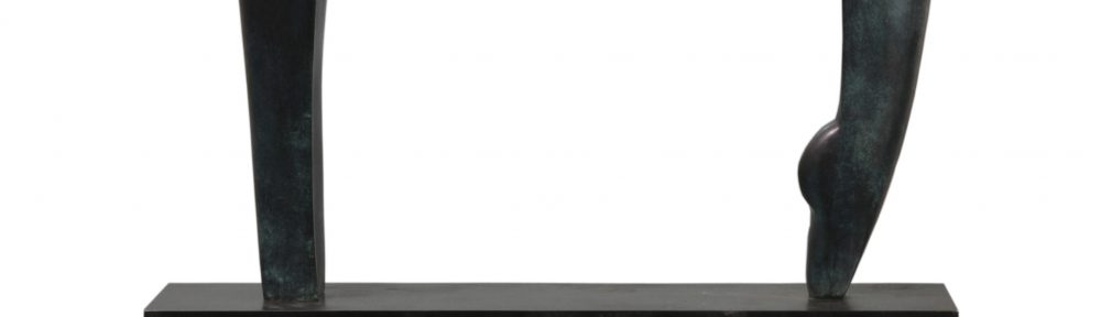 """Equilibrio"". Bronce. 96x96x25 cm. 2016"