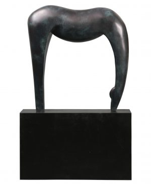 """Equilibrio"". Bronce. 96x96x25 cm. 2016"