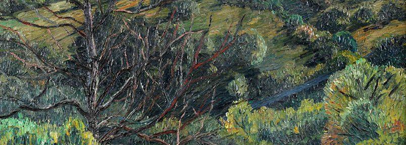 La Estancita . óleo sobre lienzo . 66x76cm