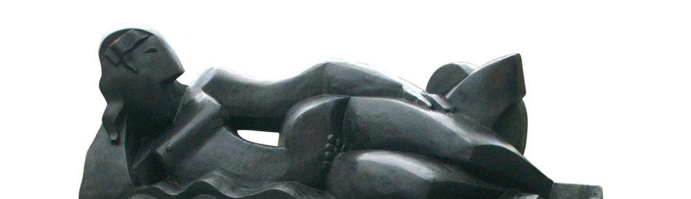 Ninfa Acostada, Bronce a la cera perdida, 72 x 170 x 58 cm, 1924