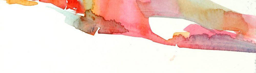 Sueño, acuarela sobre papel, 17x25cm, 2017.