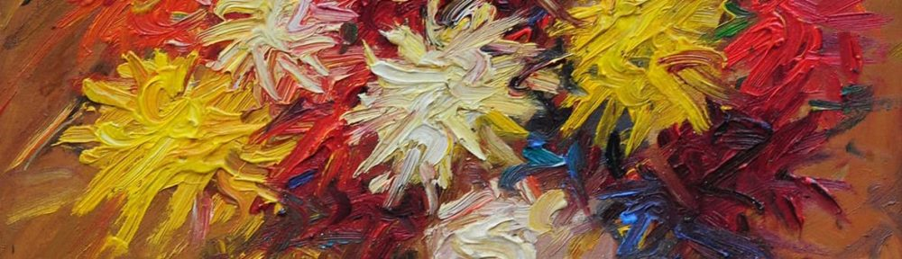 Stephen Koekkoek . Flores . óleo sobre tabla . 38x38cm . 1932