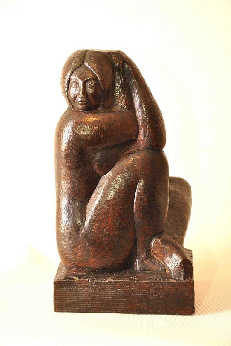 Pablo Curatella Manes quizás sea el artista más importante nacido en nuestro país. Su obra no debe superar las 80 esculturas, per la calidad de cada una de ellas es excepcional.