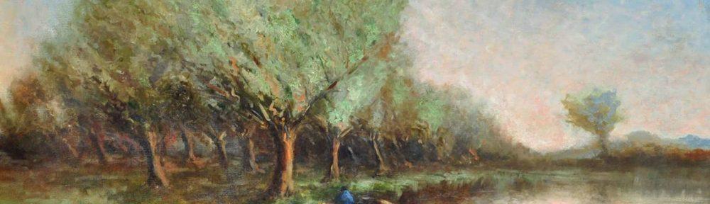 Pescadores . óleo sobre lienzo . 102x127cm . 1921