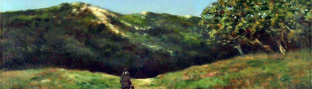 El Cazador, Córdoba . óleo sobre lienzo . 60x90cm . 1940