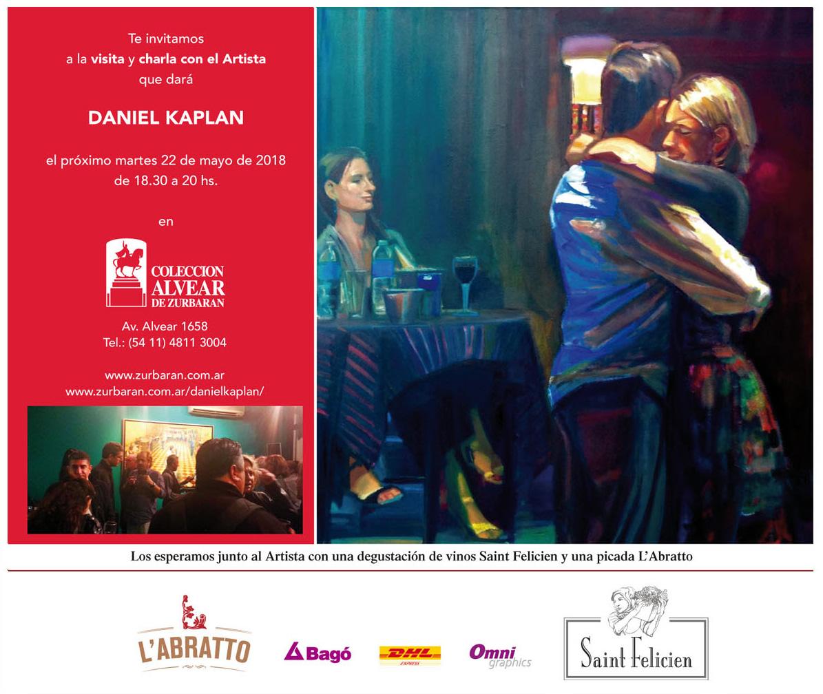 Porteño de ley, Daniel Kaplan nació en Buenos Aires en 1965. Estudió en las escuelas de Bellas Artes Prilidiano Pueyrredón y Ernesto de la Cárcova.