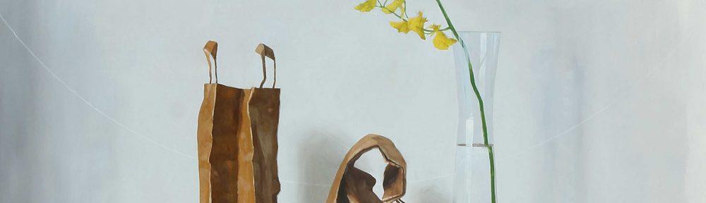 Tristeza de Otoño . óleo sobre lienzo . 130x130cm . 2014