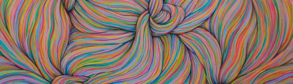 Nudosos . acrílico sobre lienzo . 100x120cm . 2015