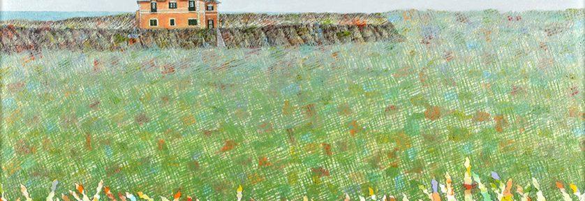 Cerca del Río Salado . óleo sobre tabla . 50 x 60 cm . 2007