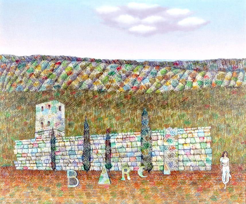 Néstor Villar Errecart (81) es dueño de una pintura única y personal que tiene al paisaje como su principal temática teniendo a Mar del Plata, su ciudad natal, como la gran protagonista de su obra.