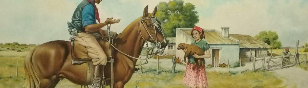 "¡Abajese Mozo! ¡Abajese y Dentre!"" - óleo sobre lienzo - 30x40cm. - 2008"