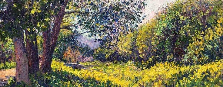 El Viejo Canal . óleo sobre lienzo . 50 x 70 cm . 2018