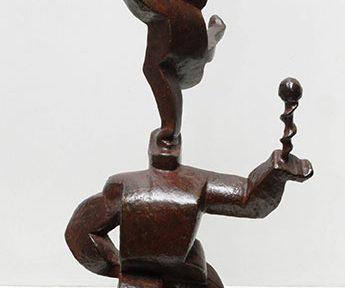 Acróbatas . bronce . 42 x 22 x 12 cm . 1923