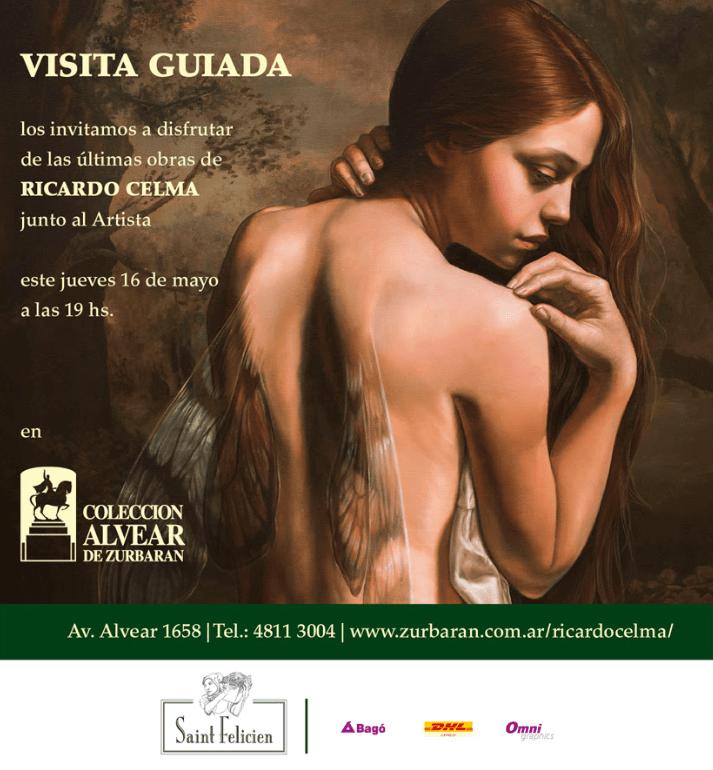 Ya podés visitar la muestra de Ricardo Celma en Colección Alvear de Zurbarán donde se presentan las últimas creaciones del artista.