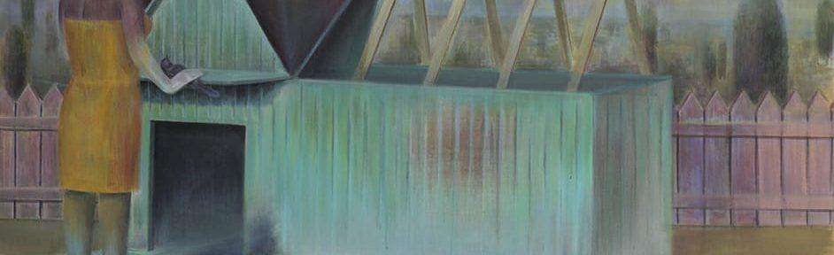 Canción rota . acrílico sobre lienzo . 150 x 180 cm . 2019