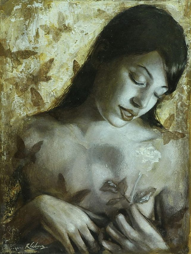 María Gracia . acuarela sobre papel . 29 x 22 cm . 2008
