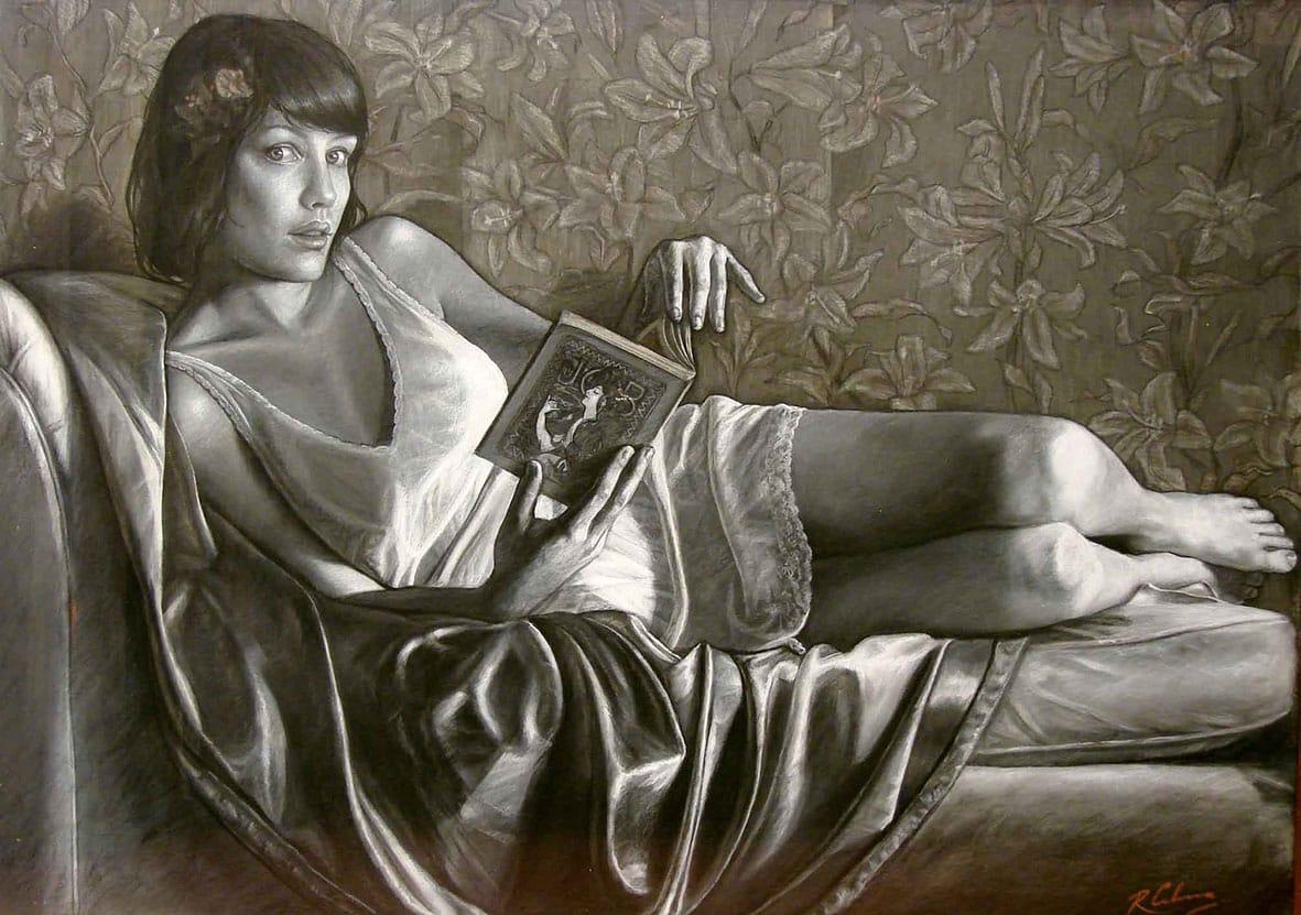 Arte Nuevo . pastel tiza sobre cartón . 80 x 100 cm . 2010