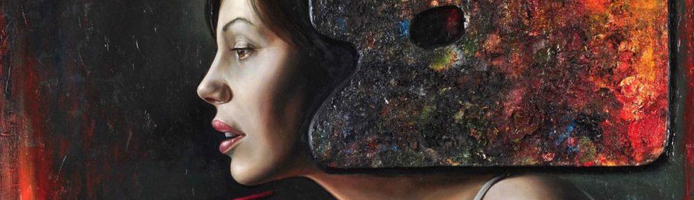 Paleta de Verano . óleo sobre madera . 45 x 75 cm . 2012