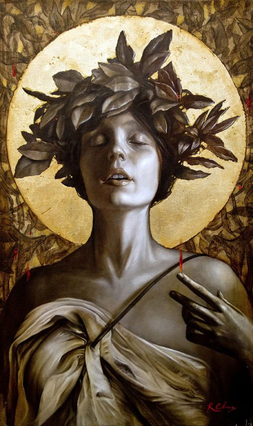 Telesita . óleo sobre lienzo . 72 x 44 cm . 2015