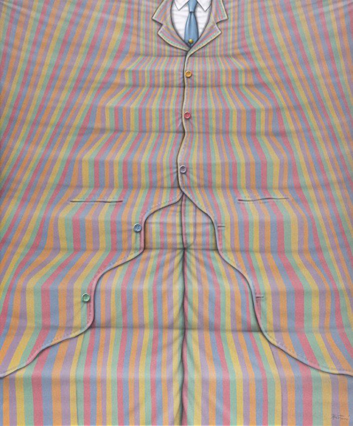 En su Vida . acrílico sobre lienzo . 120 x 100 cm . 2019