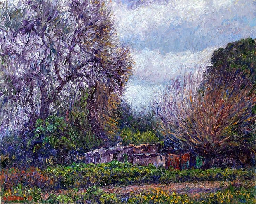 Rincón del Frío . óleo sobre lienzo . 40 x 50 cm . 2019