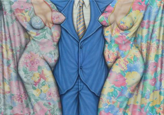 . Primavera Verano . acrílico sobre género . 70 x 100 cm . 2004