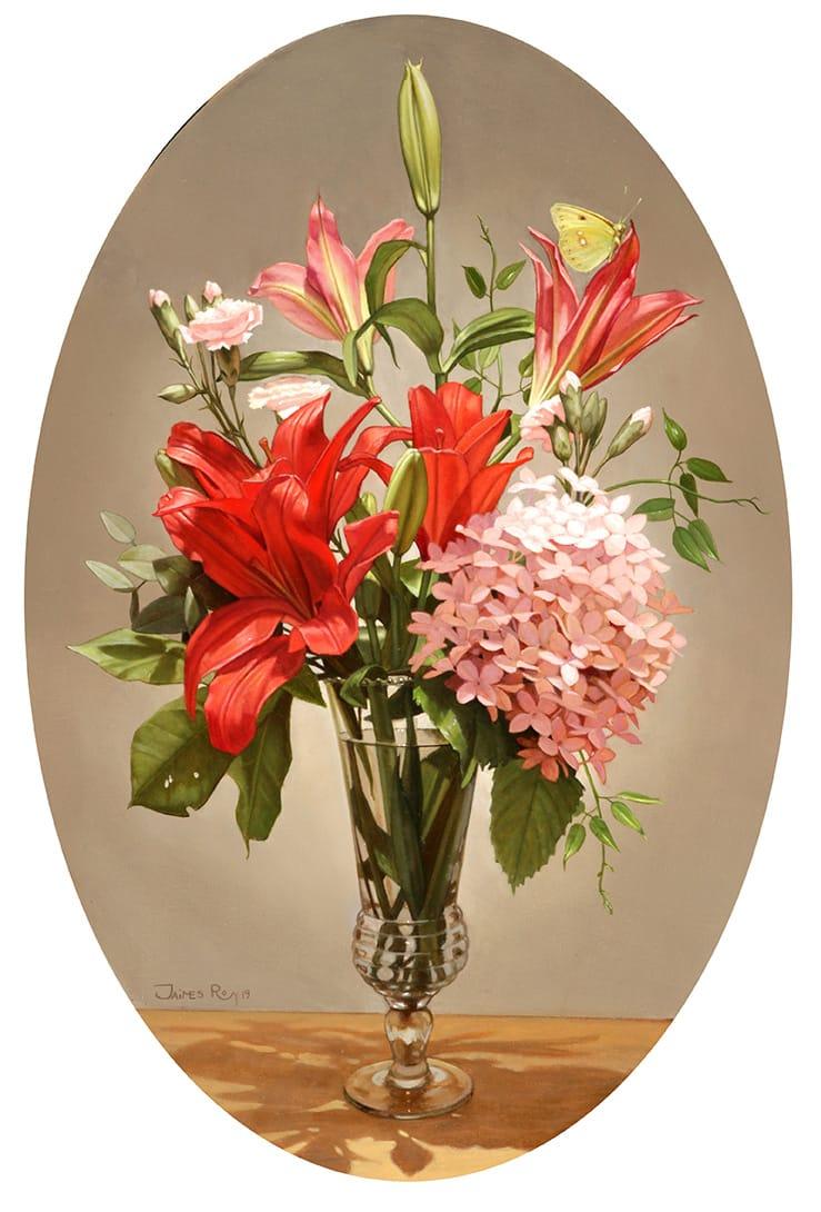 Las flores es un modelo recurrente utilizado por los artistas, y si bien la temática es la misma, hay diversas formas de abordarla.