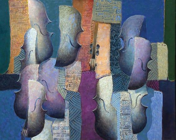 Jesús Marcos . Contrapunto . óleo sobre lienzo . 80 x 100 cm . 2011