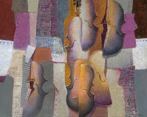 Jesús Marcos . Luz Otoñal . óleo sobre lienzo . 80 x 100 cm . 2013