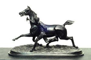 Conde Du Passage . Palafrenero . bronce . 81 x 110 x 40 cm . 1873