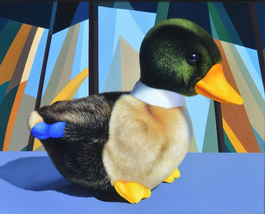 Patoruti . óleo sobre lienzo . 40 x 50 cm . 2019