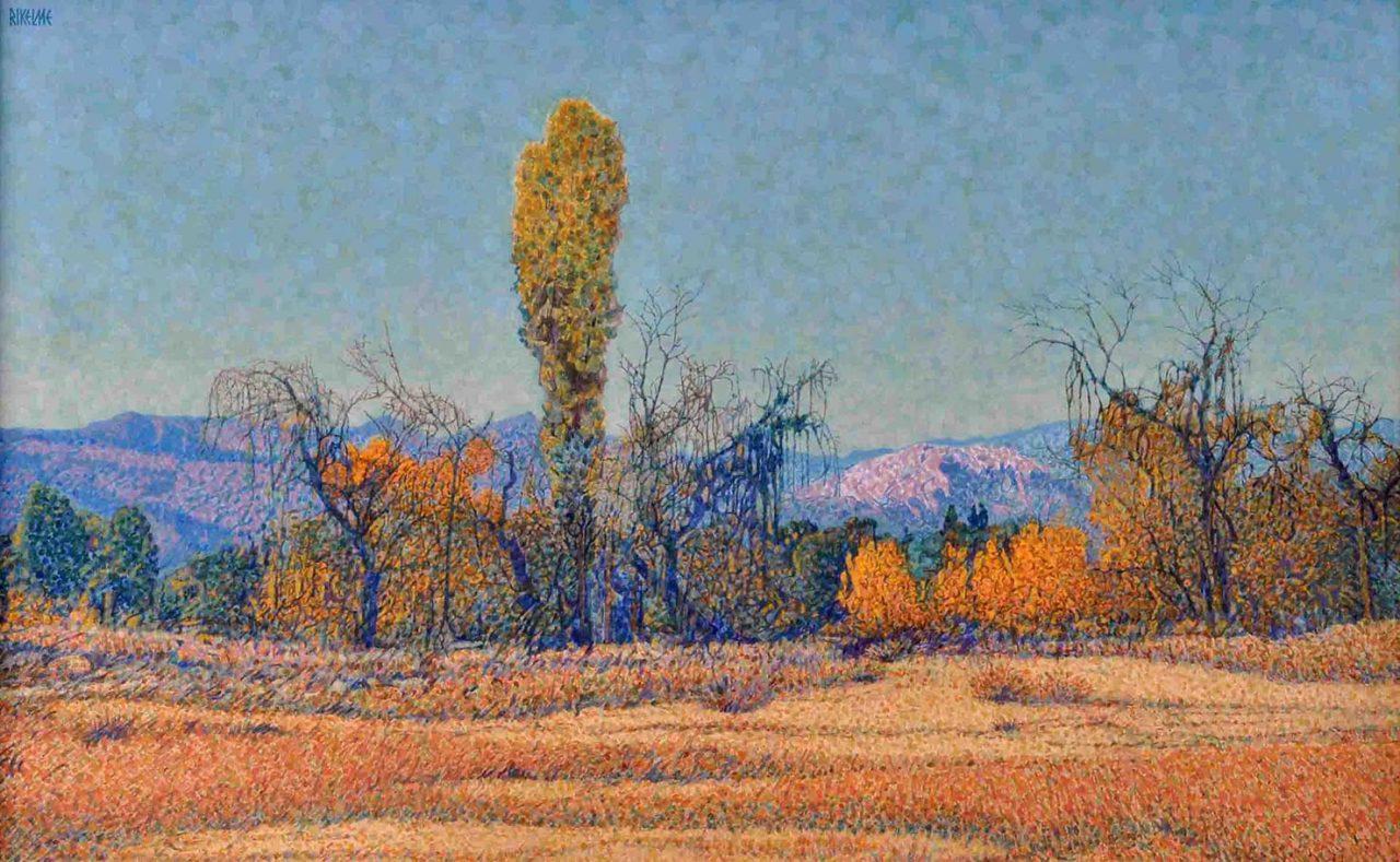 Invierno . acrílico sobre lienzo . 50 x 80 cm . 1997