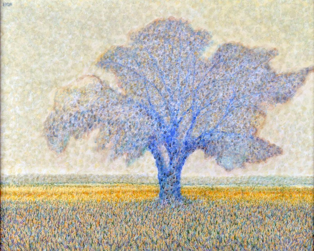 El Señor de la Llanura . acrílico sobre lienzo . 65 x 81 cm . 1995