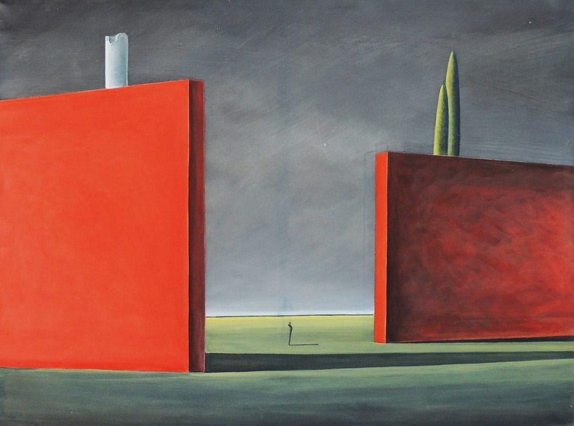 El Destino del Tiempo . acrílico sobre lienzo . 90 x 120 cm . 2016