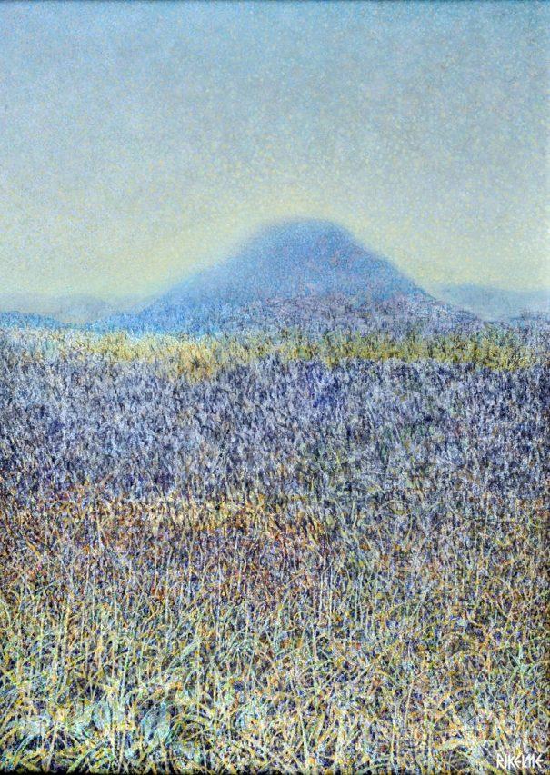 Viejos Sueños . acrílico sobre lienzo . 70 x 50 cm . 1987