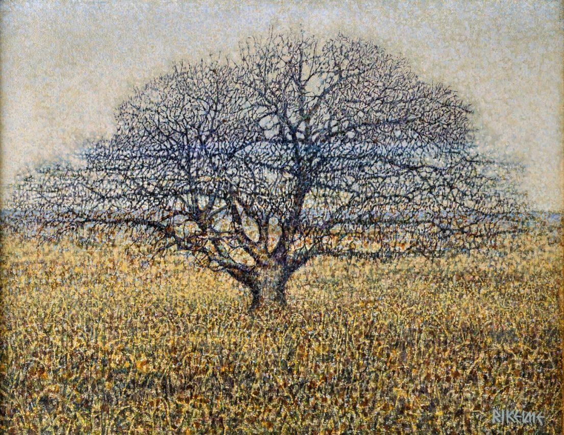 Soledad . acrílico sobre lienzo . 35 x 45 cm . 1987