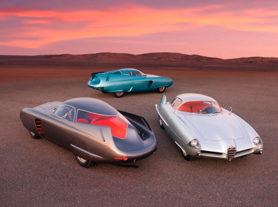 Tres Alfa Romeo en Sotheby's.