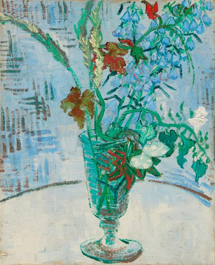 """""""Flores en un Vaso"""", Van Gogh."""