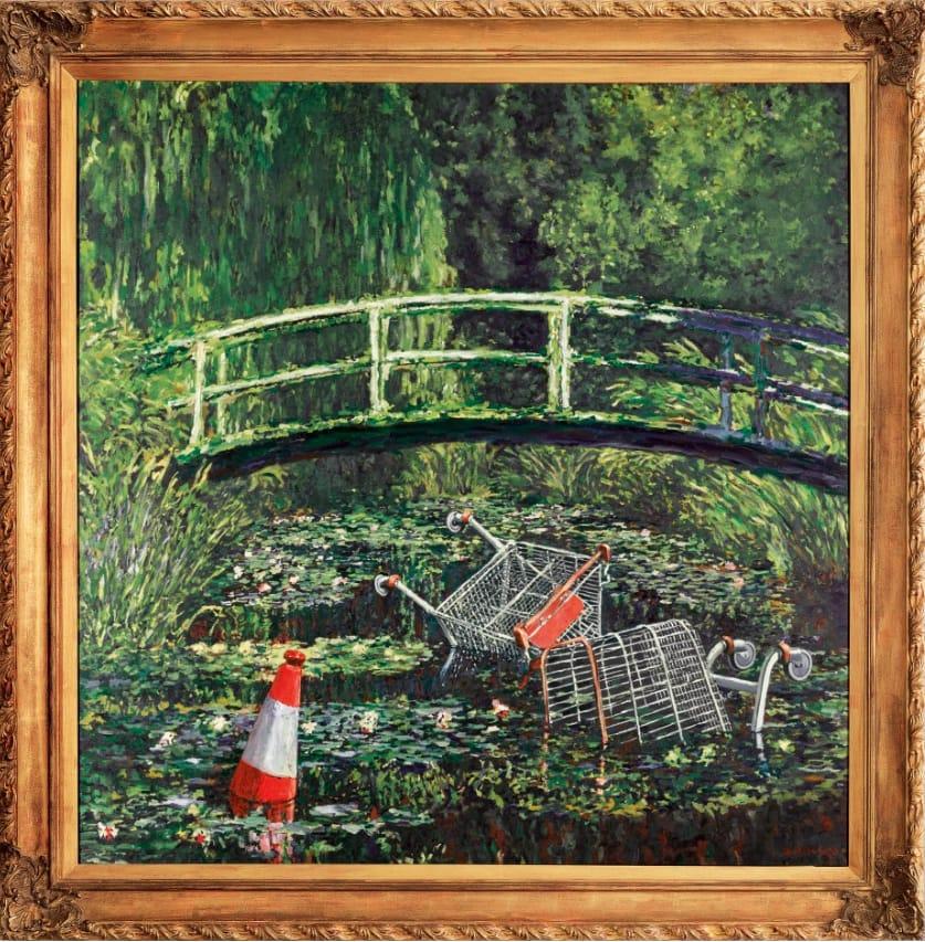 3. El Monet de Bansky.