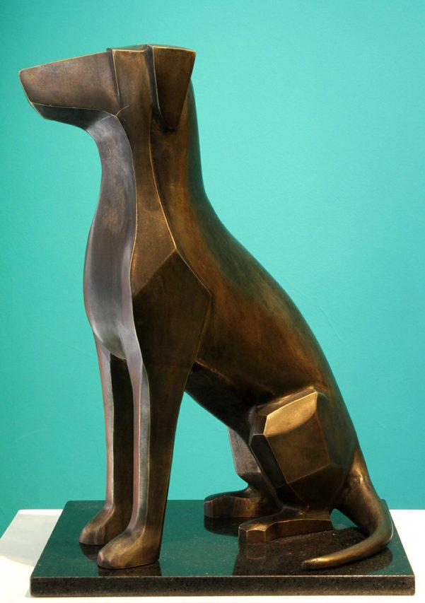 39243 Silvia Celcer . Compañero . bronce . 56 x 27 x 34 cm . 2019