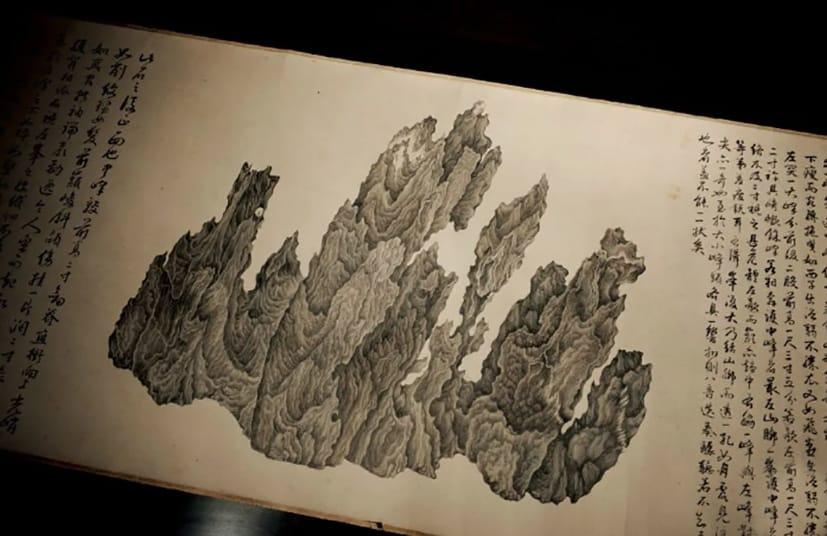 Arte chino, pergaminos millonarios.