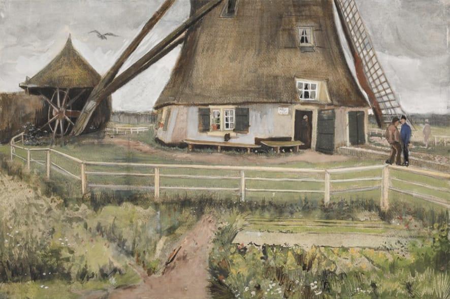 Molino de Van Gogh.
