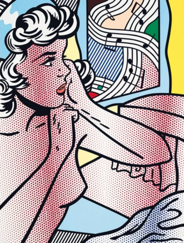 Roy Lichtenstein, el Rey de Pop.