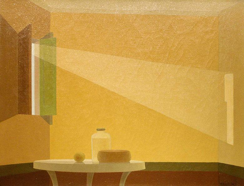 """Sol de Mañana"" de 1945, representativo de su obra."