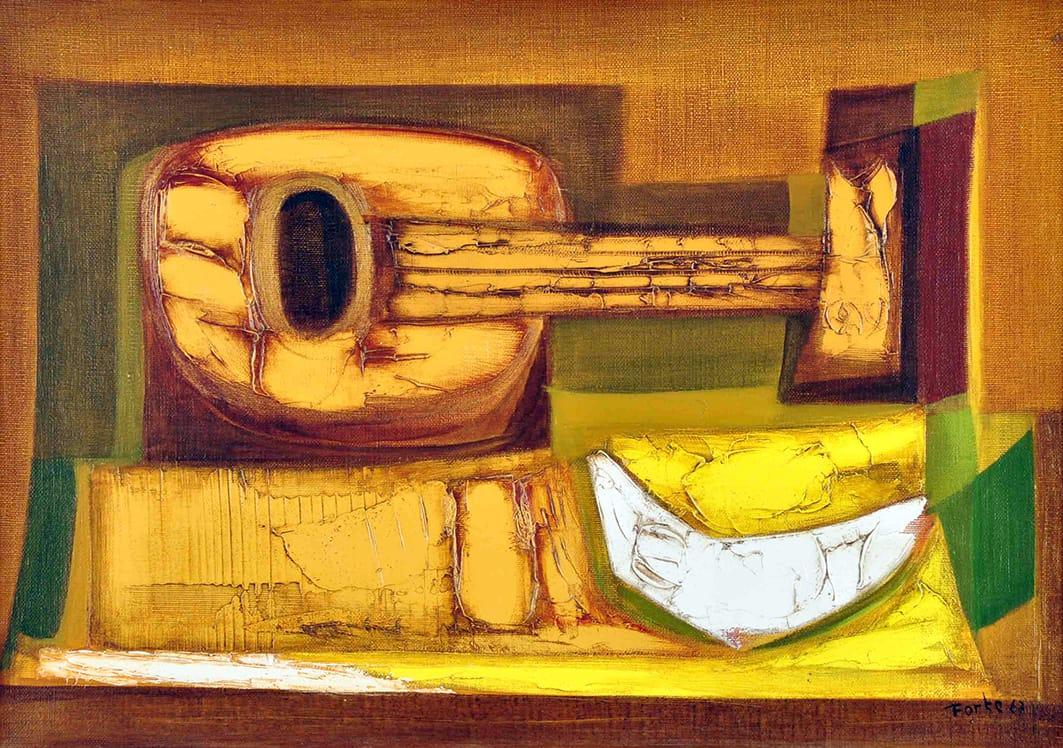 Instrumento con Fruta, 1967.