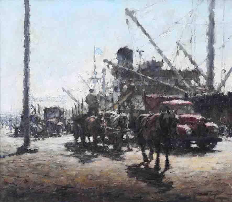 """Actividad Portuaria"", 1955."