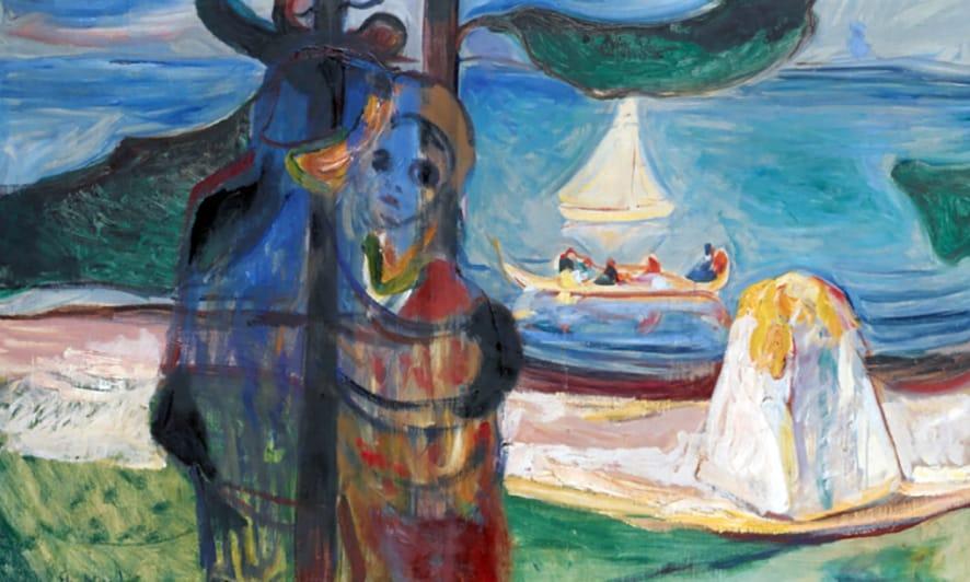 """La obra de Munch """"Día de Verano"""" alcanzó los 22 millones de dólares."""
