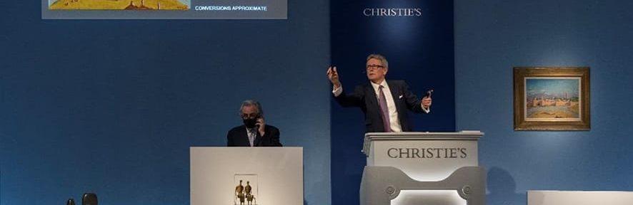 Christie's desde Londres.