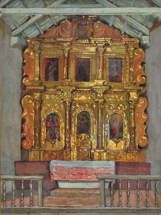 Altar de Uquía, Jujuy, 1932.