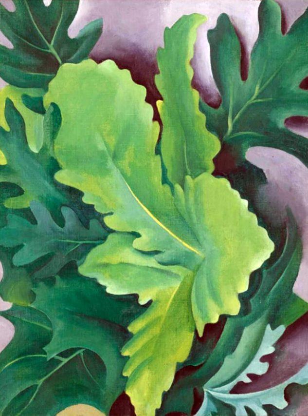 Obra de Georgia O'Keeffe.